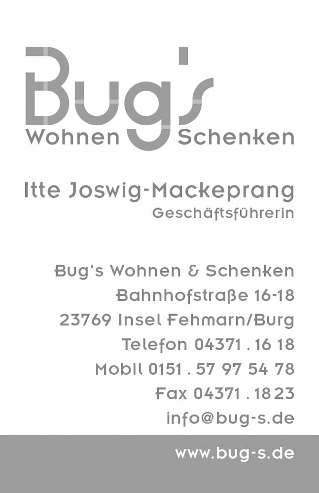 Bug\'s | Bea Kause - Grafikdesign Lübeck